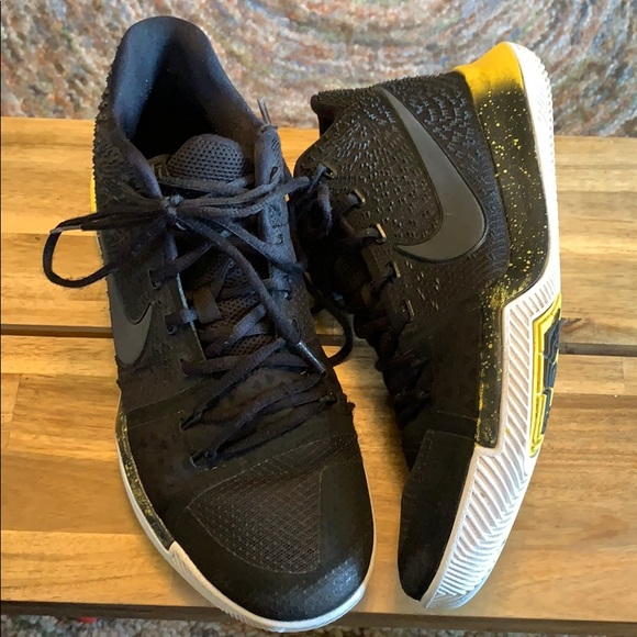 Nike Other - Nike Kyrie 3 Black Yellow
